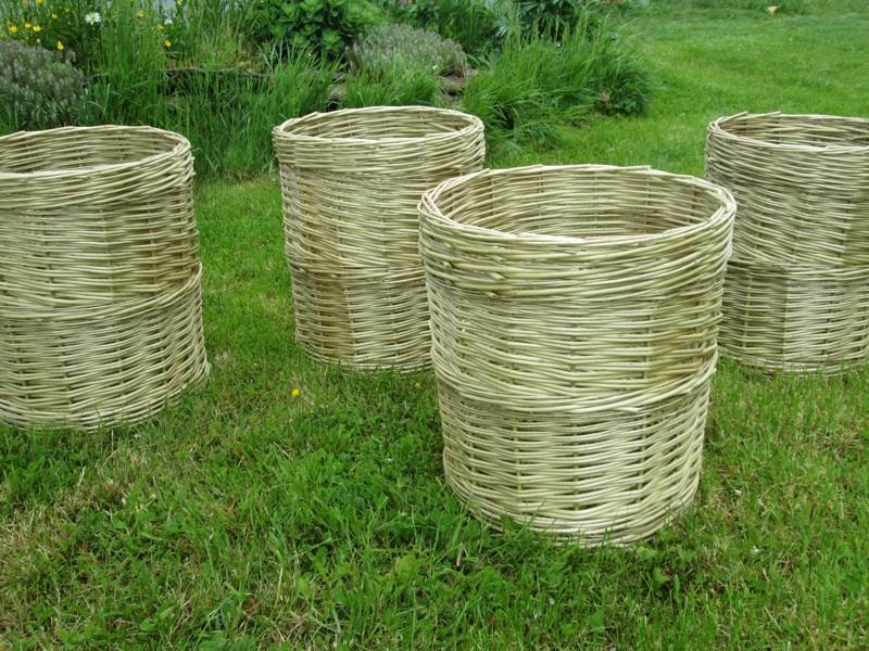 caches pots en osier stabilisé